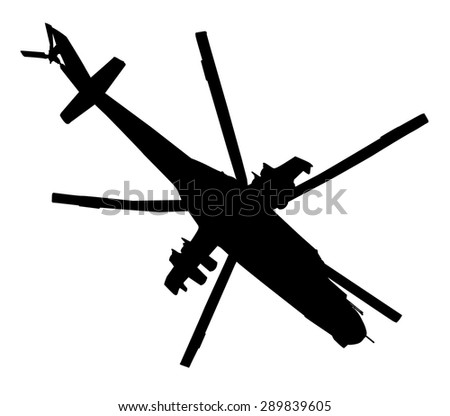 military helicopter flying