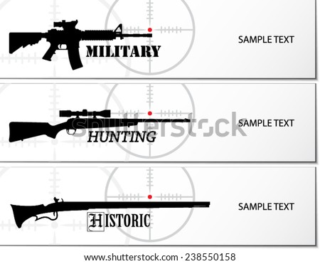 military hunting and historic