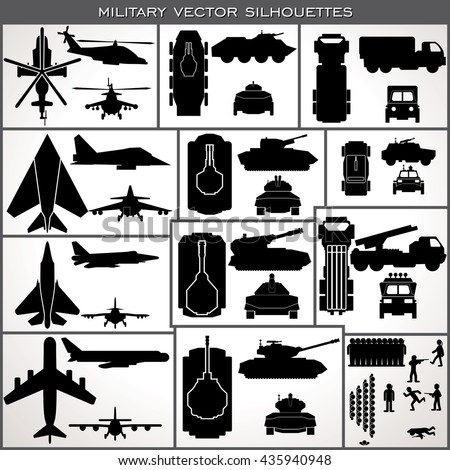 military icon vector abstract