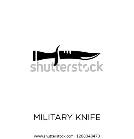 military knife icon military