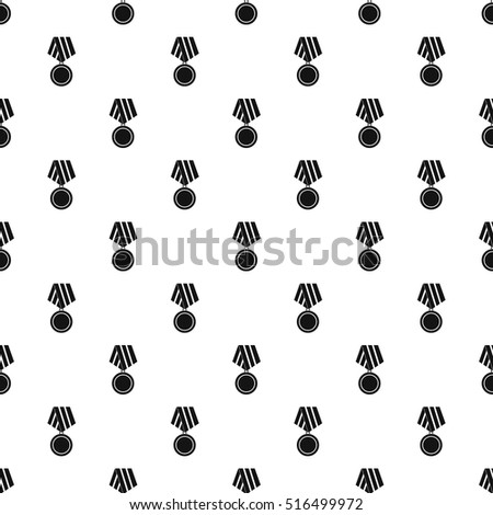 military medal pattern simple