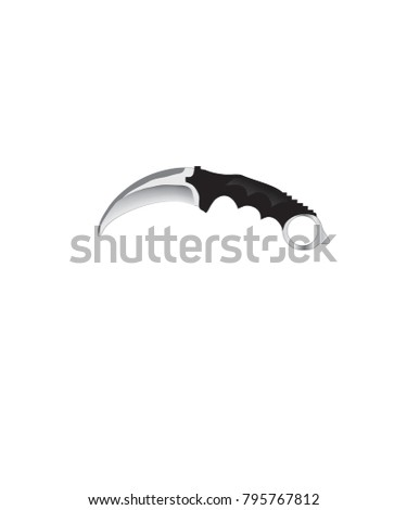 military or army knife icon