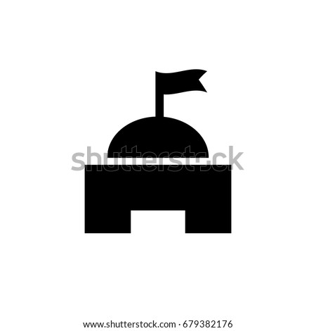 Military Or Government Vector Icon