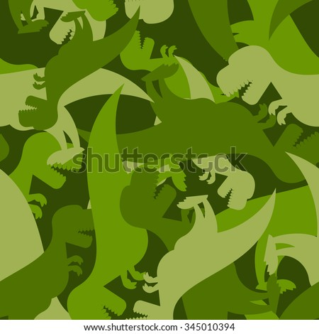 military pattern dinosaur army