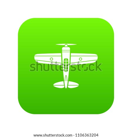 military plane icon simple