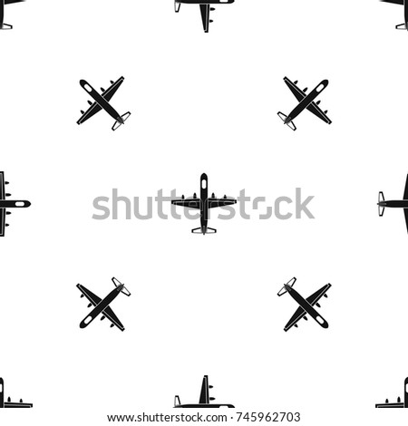 military plane pattern repeat