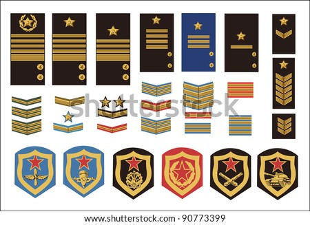 Military Ranks Symbols Download Free Vector Art Stock Graphics