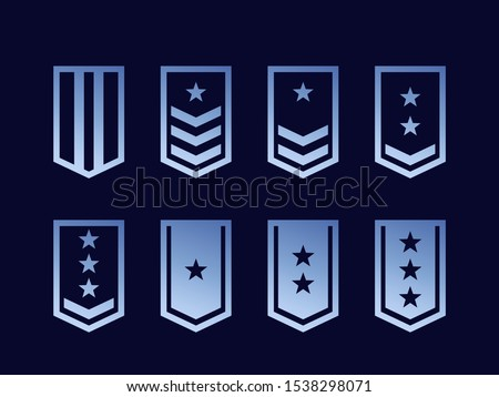 military ranks  army epaulettes