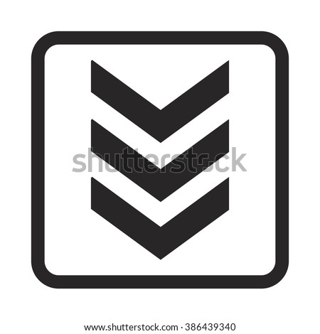 military's stripes icon