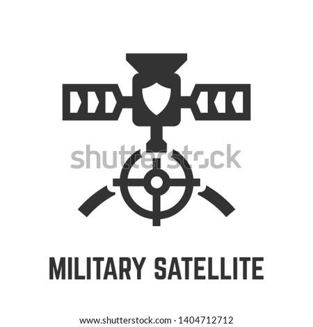 military satellite icon
