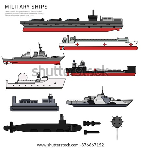 military ships  navy ammunition