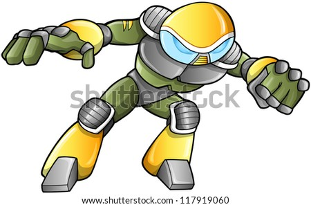 military soldier warrior vector