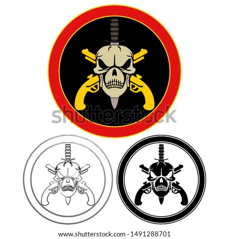 military special forces colored