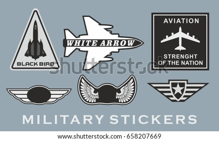 military stripes the theme of