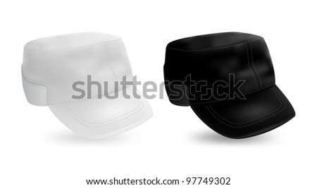 military style cap blank