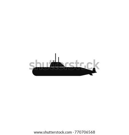 military submarine icon