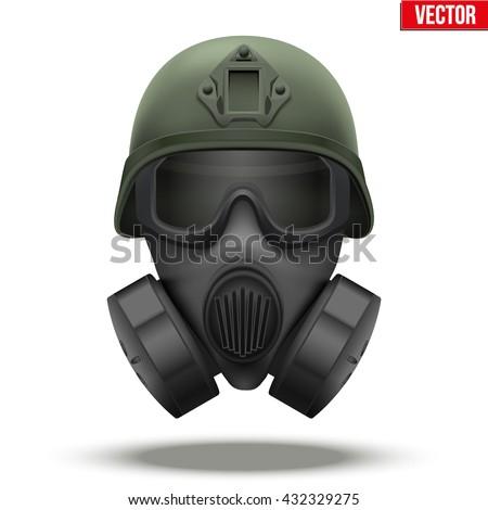 military tactical helmet of