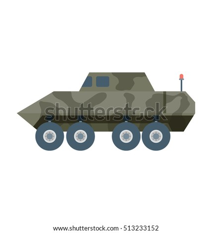 military tank vector icon