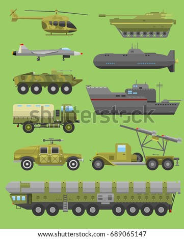 military technic transport