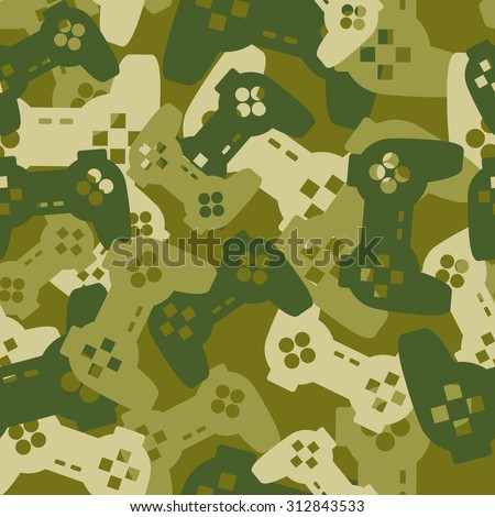 military texture from gaming