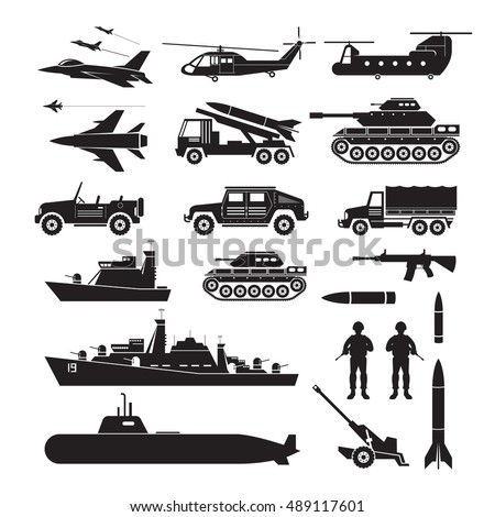 military vehicles object