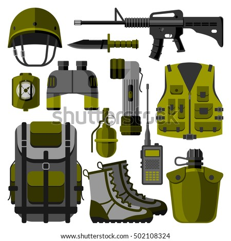 military weapon guns symbols
