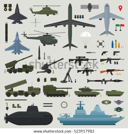 military weapons of army naval