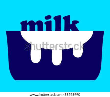Milk and a pot