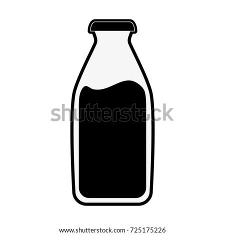 milk bottle icon image