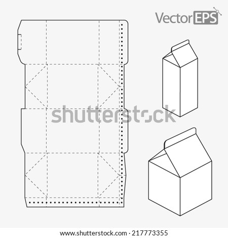Vector Images Illustrations And Cliparts Milk Carton