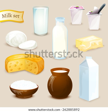 milk food and drink products