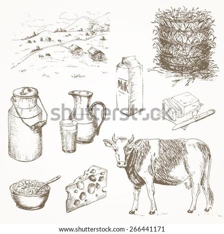 Dairy Farming Products Dairy Farm Set