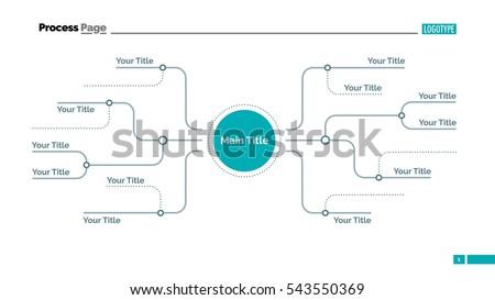 mind map slide template