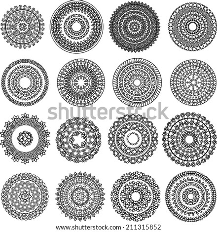 Royalty Free Henna Mandala Design Very Detailed 86373286 Stock