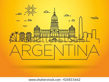 minimal argentina linear
