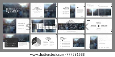 Minimal black presentation templates elements on a white background. Vector infographics. Use in Presentation, flyer and leaflet, corporate report, marketing, advertising, annual report, banner.