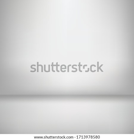 minimal clean blank trade show booth for designers. Background empty room studio with modern space for text, picture, product, gallery, banner, presentation, offer. copy space. illustration 3d Vector