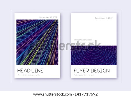 minimal cover design template