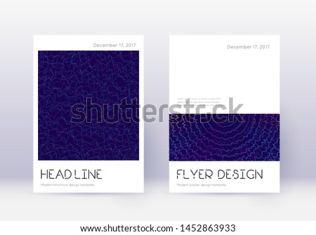 minimal cover design template