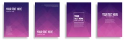 minimal cover design with colorful halftone gradient. vector template brochure, flyer, presentation, leaflet, magazine a4 size