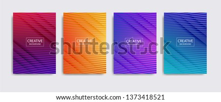Minimal covers design. background modern template design for web. Cool gradients. Future geometric patterns. Eps10 #1373418521