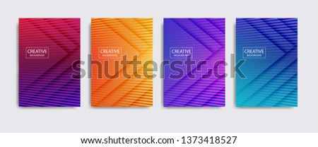 Minimal covers design. background modern template design for web. Cool gradients. Future geometric patterns. Eps10