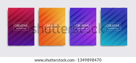 Minimal covers design. Colorful halftone gradients.background modern template design for web. Cool gradients. Future geometric patterns. Eps10 vector