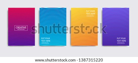 Minimal covers design. Colorful halftone gradients.background modern template design for web. Cool gradients. Future geometric patterns. Eps10 #1387315220