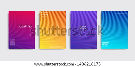 Minimal covers design. Colorful halftone gradients.background modern template design for web. Cool gradients. Future geometric patterns. Eps10 #1406218175