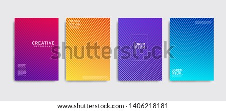 Minimal covers design. Colorful halftone gradients.background modern template design for web. Cool gradients. Future geometric patterns. Eps10 #1406218181