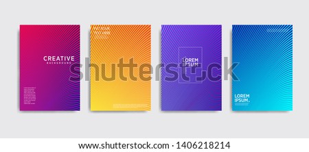 Minimal covers design. Colorful halftone gradients.background modern template design for web. Cool gradients. Future geometric patterns. Eps10 #1406218214