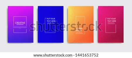 Minimal covers design. Colorful halftone gradients.background modern template design for web. Cool gradients. Future geometric patterns. Eps10 #1441653752