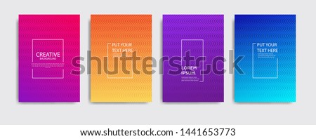 Minimal covers design. Colorful halftone gradients.background modern template design for web. Cool gradients. Future geometric patterns. Eps10 #1441653773