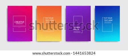 Minimal covers design. Colorful halftone gradients.background modern template design for web. Cool gradients. Future geometric patterns. Eps10 #1441653824